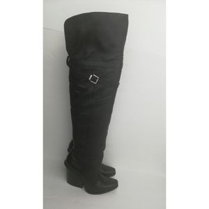 Jessica Simpson Black Leather over the knee Boots